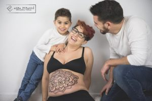 belly painting lleida